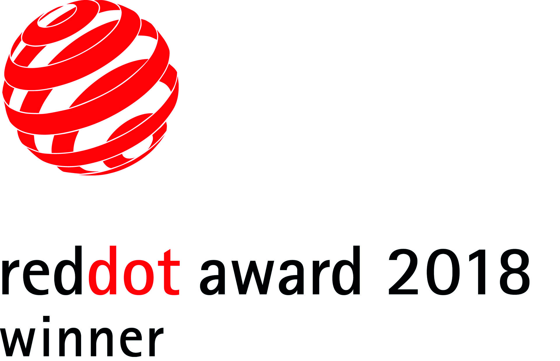 Vítěz RED DOT DESIGN AWARD 2018